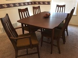 Mid Century Modern Dining room table and buffet