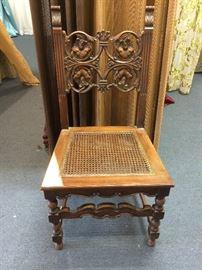 Carved Sidechair