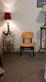 Retro chair. Pair