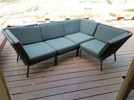 Modern patio sectional