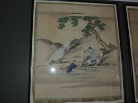 Chinese Watercolors