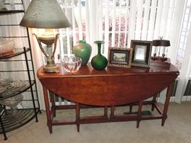 Great Drop Leaf Sofa Table