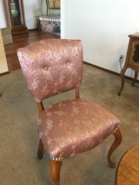 Side chair recovered