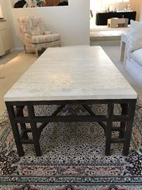 Kreiss Collection ----Travertine  coffee table