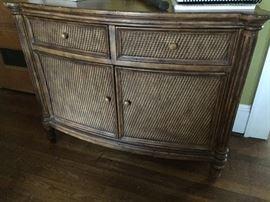 Rattan dresser/side board