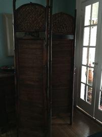 Asian room divider