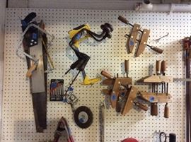 Lots of hand tools