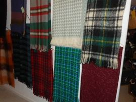 WOOL  & MOHAIR THROWS AND OTHERS