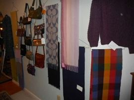 MORE BAGS, CASHMERE SCARVES