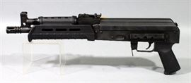 Century Arms RAS47 AK-47 Pistol, 7.62x39mm, SN# RAS47P003354, New With 30-Round Magazine, Box And Paperwork