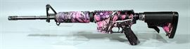 Diamond Back DB 15 Rifle, 5.56, SN# DB1531357, Adjustable Stock, Muddy Girl Finish, New With 30-Round Magazine, Hard Case And Paperwork