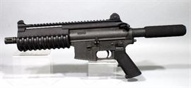 Bushmaster Carbon-15 Pistol, 9mm, SN# D09190, With 4-30 Round Mags, Box And Paperwork
