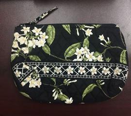 Vera Bradley cosmetics bag.