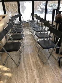 Set of 12 Italian chairs