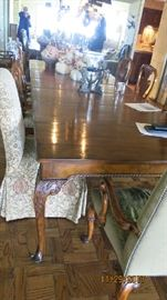 Baker Dining Table 8 chairs paid $40,000 new