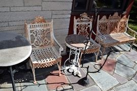 """Vintage 1890's """"Jacobs"""" Chairs and Setee"""
