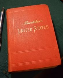 """""""Baedeker's United States""""; maps; 3rd Edition"""