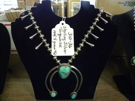 Sterling Silver & Turquoise