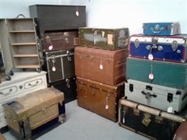 Some of our Various Trunks and Chests