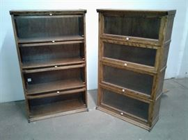 A couple of the MANY barrister bookcases presently in the store.