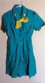 Vintage 1960s Girl Scout Uniform