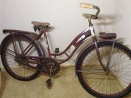 1936 Ward Hawthorne Zep Ladies Bike