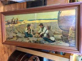 Cowboy / Western Art.