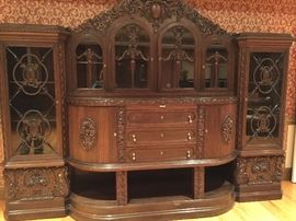 Fabulous German Wall Unit  Orig purchased at a sale price of $35,000 reduced from 50,000. Offered now for $6,995
