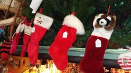 Stockings to be hung by the fire with care