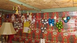 hundreds (maybe thousands) of ornaments