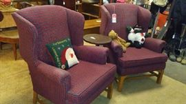 Furniture items too (wing back chairs)