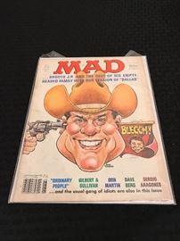 JR Ewing on MAD magazine