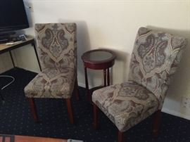 Chairs with Table