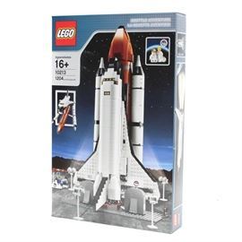 Lego NASA Space Shuttle 10213: A Lego NASA Space Shuttle building kit. This kit is number 10213.