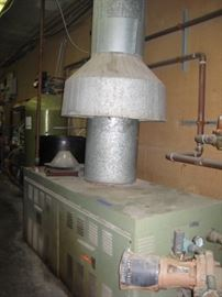 2 BOILERS AND WATER TANK