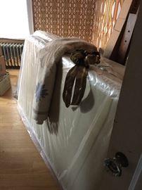 Twin mattress still wrapped in plastic!