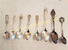 sterling souvenir spoons