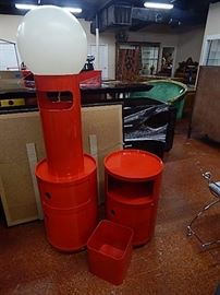 Kartell Red Storage Cabinets & More