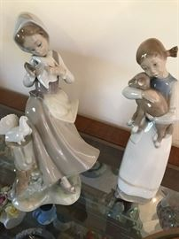 2 Lladro Girls