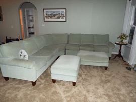 Another view of Flexsteel sectional