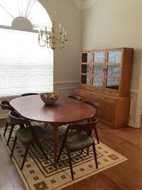 Vintage Hagen and Strandgaard Dining Table & Chairs