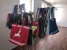 Variety of brand new hand bags and purses