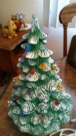 Ceramic Tree w Lights