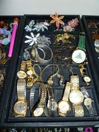 BROACHES, WATCHES