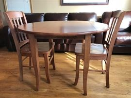 Bistro Table and Two Chairs Set