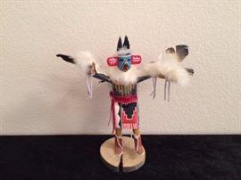 Eagle Kachina, signed by Largo