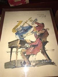 ORIGINAL WATERCOLOR PAINTING FROM NEW ORLEANS