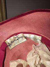 WOMENS VINTAGE HATS