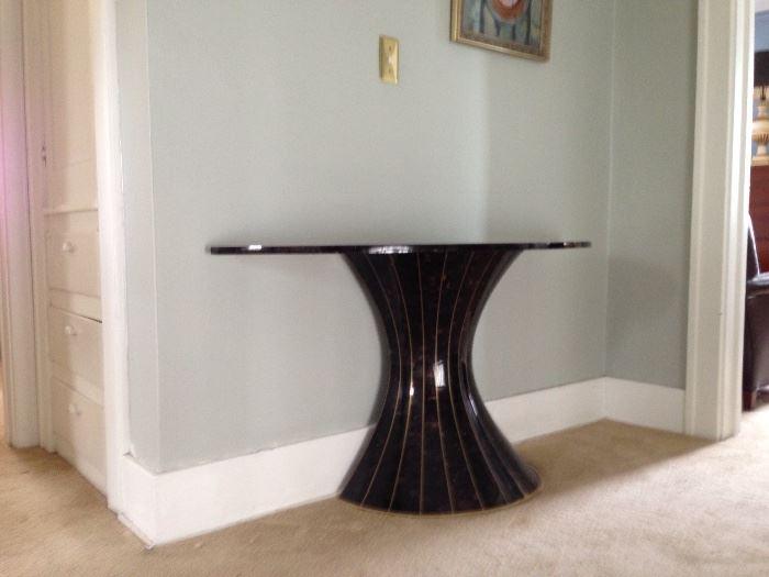 MODERN HALF MOON TABLE
