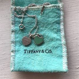 AUTHENTIC TIFFANY & CO. STERLING SILVER JEWELRY